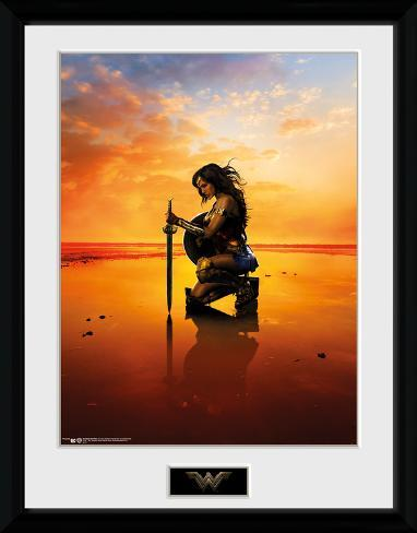 Wonder Woman - Kneel Stampa del collezionista