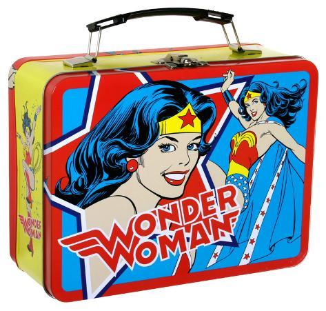 Wonder Woman Large Tin Lunch Box Lunch Box