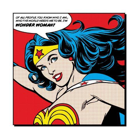 Wonder Woman: Of All People Art Print