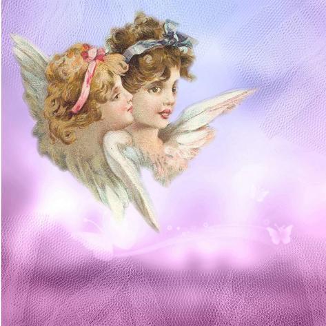 Angel Love Faith Lámina