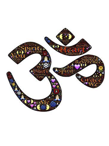 Namaste Indian Greetings Stampa artistica