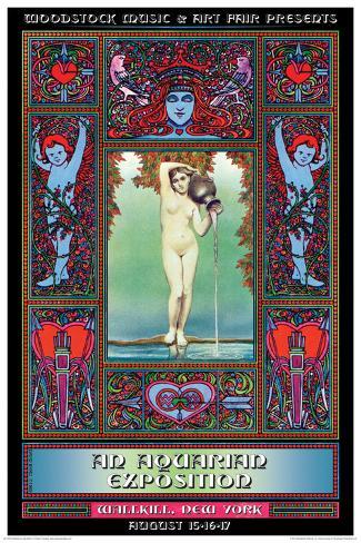 Woodstock- Original Juliste