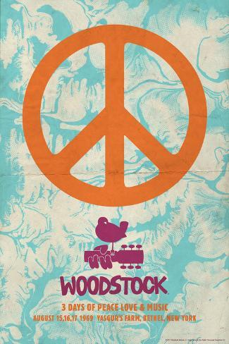 Woodstock Peace Posters At Allposters Com Au