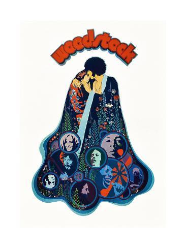 Woodstock Impressão artística
