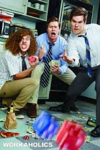 Workaholics Rolling Dice Poster