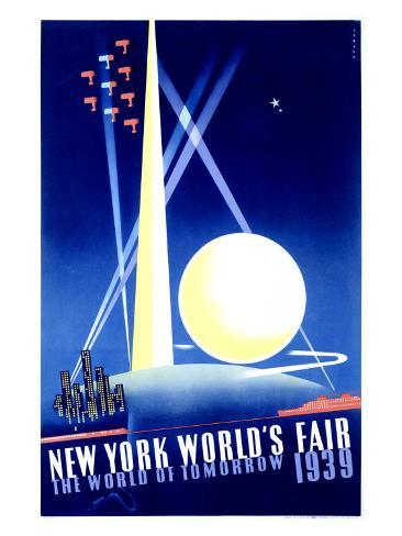 World's Fair, New York, c.1939 Giclee Print