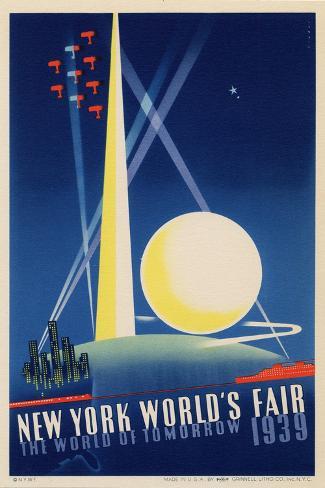 オールポスターズの world s fair poster for new york world s fair