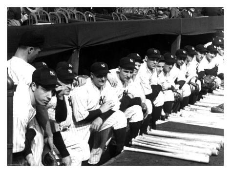 World Series, New York Yankees, c.1937 Giclee Print