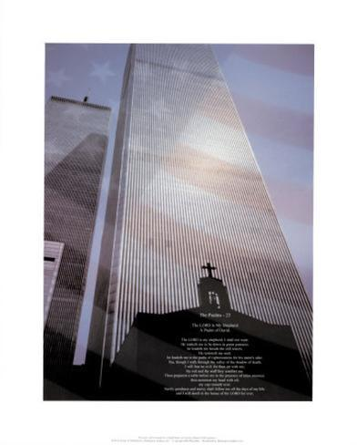 World Trade Center, Psalm 23 Art Print