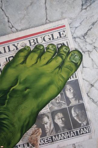 World War Hulk: Front Line No.1 Cover: Hulk Poster