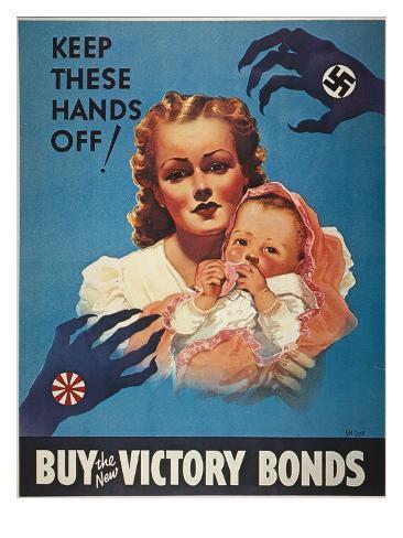 World War Ii: Bond Poster Giclee Print