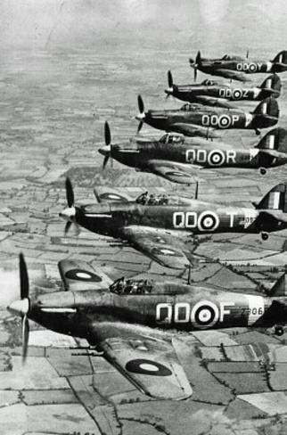 World War II Royal Air Force Archival Photo Poster Print Masterprint