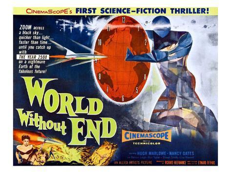 World Without End, Bottom Left: Nancy Gates, 1956 Foto