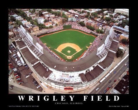 Wrigley Field - Chicago, Illinois Art Print