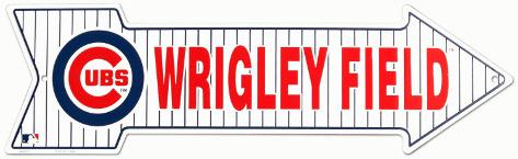 Wrigley Field Chicago Tin Sign