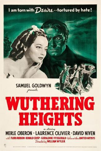 Wuthering Heights, 1939 Gicléetryck
