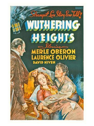 Wuthering Heights, 1939 Art Print