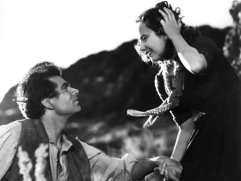 Wuthering Heights, Laurence Olivier, Merle Oberon, 1939 Photo