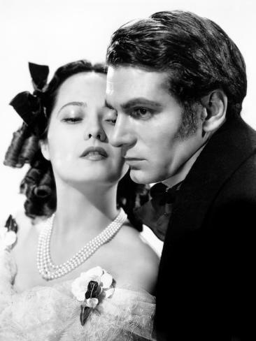 Wuthering Heights, Merle Oberon, Laurence Olivier, 1939 Photo