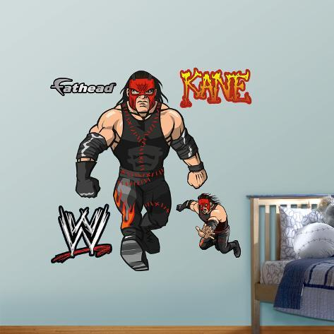 Superb WWE Wrestling Kids Kane Wall Decal Sticker Wall Decal At AllPosters.com Part 12