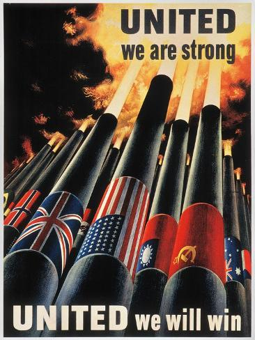 WWII: Allied Victory Giclee Print