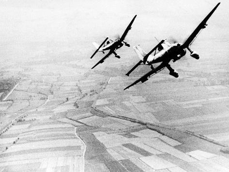 WWII Battle for Britain Photographic Print