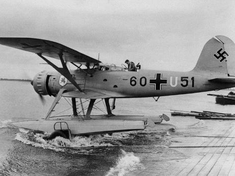 WWII German Aviation 1940 Photographic Print