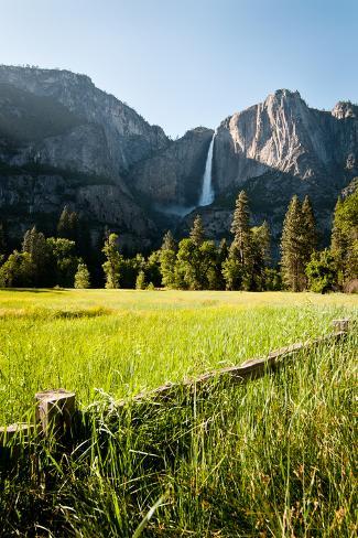 Upper Yosemite Falls Photographic Print