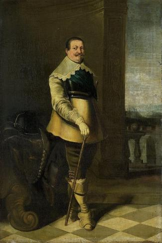 Portrait of Pieter Pietersz Hein (Formerly Entitled Portrait of an Officer) Art Print