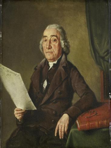 Portrait of the Amsterdam Art Collector Jacob De Vos Senior Art Print