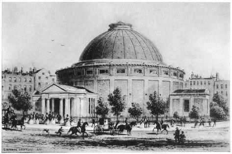 Wyld's Globe, Leicester Square, London, 1851-1862 Giclee Print