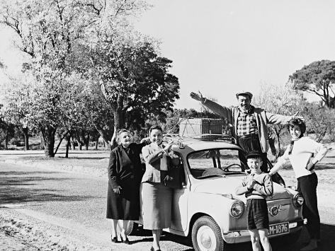 Ya Tenemos Coche 1958 Photographic Print