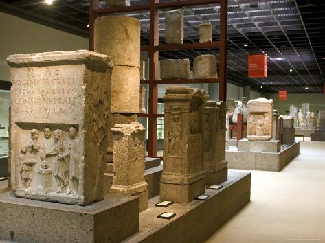 The Roman-German Museum (Romisch-Germanisches Museum), Cologne, North Rhine Westphalia, Germany Photographic Print