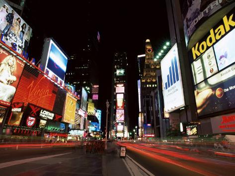 Times Square, New York, New York State, USA Photographic Print