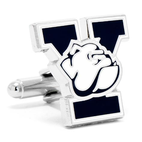 Yale University Bulldogs Cufflinks Novelty