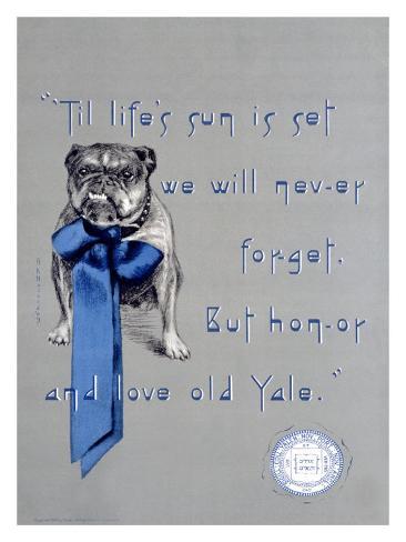 Yale University, c.1930 Giclee Print