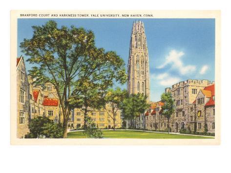 Yale University, New Haven, Connecticut Art Print