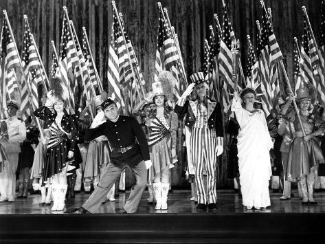 Yankee Doodle Dandy, Jeanne Cagney, James Cagney, Joan Leslie, Walter Huston, Rosemary Decamp, 1942 Photo