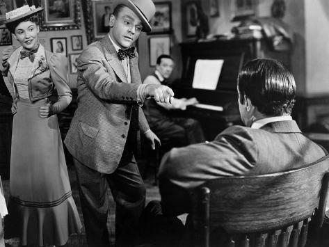 Yankee Doodle Dandy, Joan Leslie, James Cagney, 1942 Photo