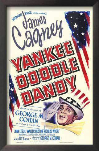 Yankee Doodle Dandy Impressão artística emoldurada