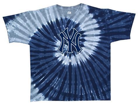 Yankees Spiral Dye T-Shirt