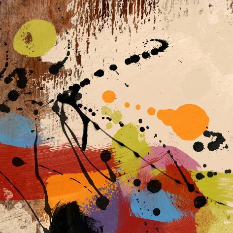 Cross Roads II Stretched Canvas Print