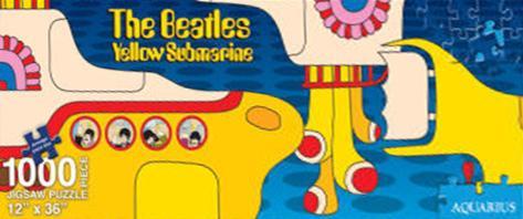 Yellow Submarine Slim 1000 Piece Jigsaw Puzzle Jigsaw Puzzle