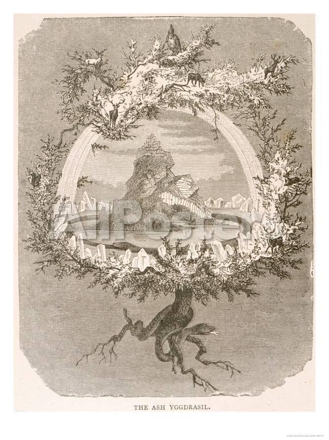 magasin d'usine 65b10 232c5 Yggdrasil the Sacred Ash the Tree of Life the Mundane Tree of Norse  Mythology