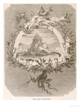 Yggdrasil the Sacred Ash the Tree of Life the Mundane Tree ...