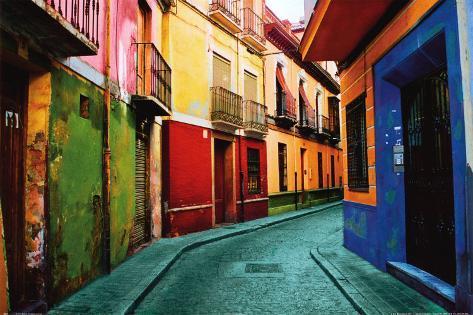Granada, Spain Art Print