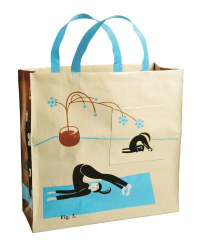 Yoga Shopper Tote Bag