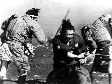 Yojimbo, Toshiro Mifune, 1961 Fotografia