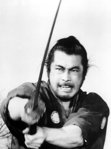 YOJIMBO, Toshiro Mifune, 1961. Photo