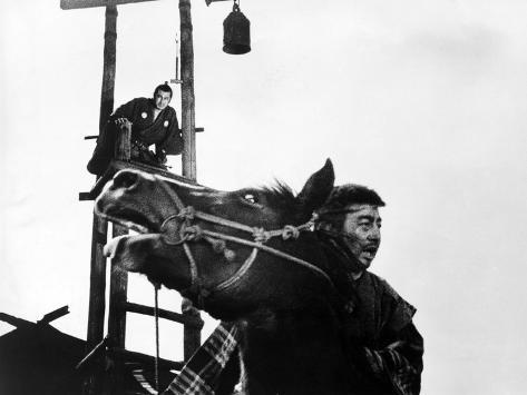 ���������yojimbo toshiro mifune on scaffold 1961���
